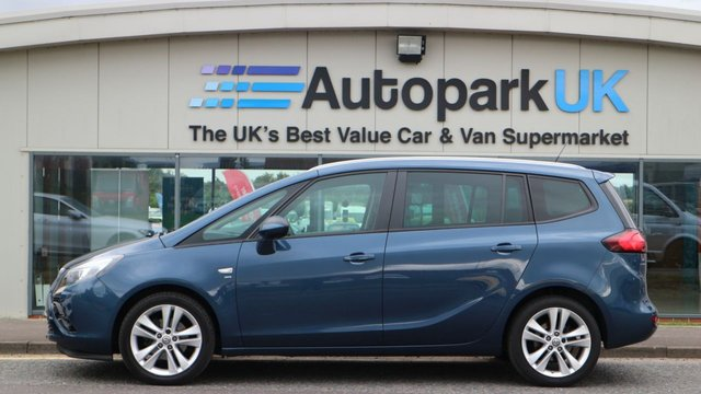 USED 2016 16 VAUXHALL ZAFIRA TOURER 1.6 SRI CDTI ECOFLEX S/S 5d 134 BHP LOW DEPOSIT OR NO DEPOSIT FINANCE AVAILABLE