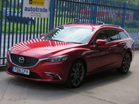 USED 2016 16 MAZDA 6 2.2 D SPORT NAV Touring Sat nav Leather Heat up display Cruise Finance arranged Part exchange available Open 7 days