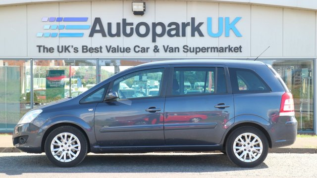 USED 2009 09 VAUXHALL ZAFIRA 1.6 ACTIVE PLUS 5d 105 BHP LOW DEPOSIT OR NO DEPOSIT FINANCE AVAILABLE