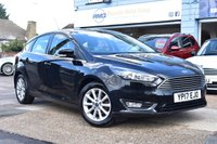 USED 2017 17 FORD FOCUS 1.5 TITANIUM TDCI 5d 118 BHP COMES WITH 6 MONTHS WARRANTY