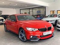 USED 2016 66 BMW 4 SERIES 2.0 420I XDRIVE M SPORT 2d AUTO 181 BHP M PERFORMANCE STYLING+X-DRIVE