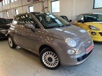 USED 2008 58 FIAT 500 1.4 LOUNGE 3d 99 BHP