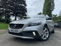 """USED 2013 63 VOLVO V40 1.6 D2 CROSS COUNTRY LUX 5d AUTO 113 BHP 2KEYS+20 ROAD TAX+LEATHER+CD+17"""" ALLOYS+CLIMATE+HISTORY+ELECS+"""