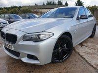 USED 2012 62 BMW 5 SERIES 2.0 520D M SPORT 4d AUTO 181 BHP CLIMATE+PARKING+LOWMILE+MEDIA+ELEC+2KEYS+LEATHERTRIM+20ALLOYS+CD+