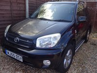 USED 2005 55 TOYOTA RAV4 2.0 XT-R VVT-i 3DOOR 4WD *LOOK*PX BARGAIN*SUNROOF*4WD*ALLOYS*
