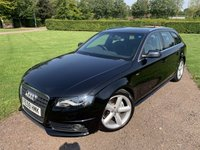 2009 AUDI A4 2.0 AVANT TDI S LINE SPECIAL EDITION 5d 141 BHP Full Audi & Specialist History  £6249.00