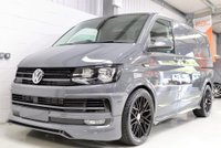 USED 2019 VOLKSWAGEN TRANSPORTER PURE GREY FULL ABT STYLING SPORTLINE 150 150 PS - COILOVERS - ABT KIT