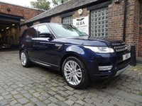 USED 2015 15 LAND ROVER RANGE ROVER SPORT 3.0 SDV6 HSE 5d AUTO 288 BHP (Pan Roof & Heated S/Wheel)