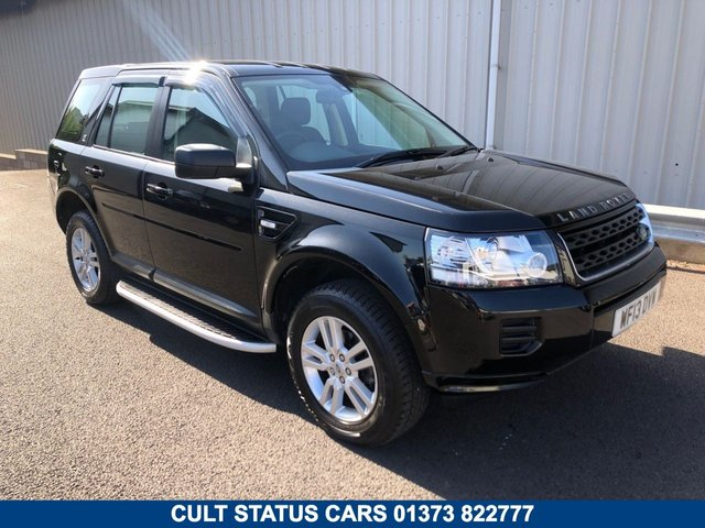 2013 13 LAND ROVER FREELANDER 2.2 ED4 BLACK AND WHITE SPECIAL EDITION 150 BHP 2WD