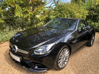 USED 2018 18 MERCEDES-BENZ SLC 2.0 SLC 200 AMG LINE 2d AUTO 181 BHP