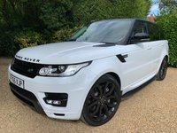 USED 2015 65 LAND ROVER RANGE ROVER SPORT 3.0 SDV6 HSE 5d 306 BHP AUTOBIOGRAPHY LOOKS