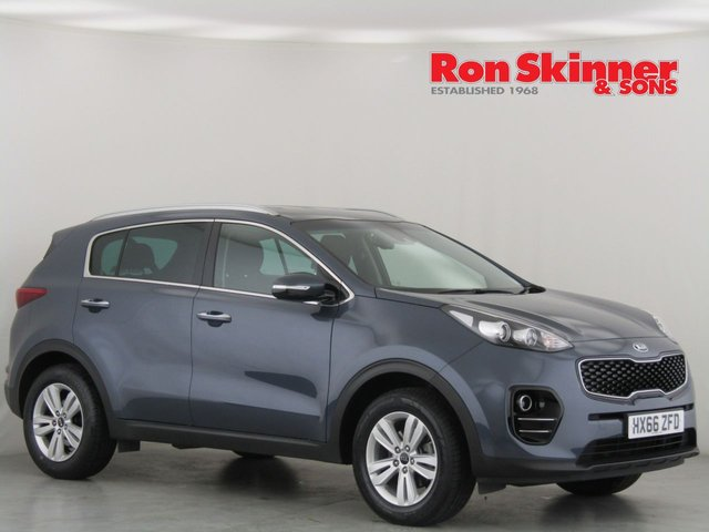 View our 2016 66 KIA SPORTAGE 1.6 2 ISG 5d 130 BHP