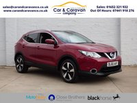 USED 2015 65 NISSAN QASHQAI 1.5 DCI N-TEC PLUS 5d 108 BHP One Owner All Dealer History Buy Now, Pay Later Finance!