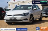 USED 2017 67 VOLKSWAGEN GOLF 1.6 SE NAVIGATION TDI BLUEMOTION TECHNOLOGY 5d 114 BHP