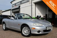 USED 2002 52 MAZDA MX-5 1.8 I 2d 144 BHP PRE REGISTERED BY SUPPLYING DEALER THEN ONE PRIVATE OWNER AND IN FANTASTIC CONDITION WITH A FULL SERVICE HISTORY.