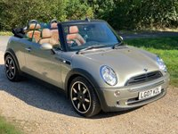 USED 2007 07 MINI CONVERTIBLE 1.6 COOPER SIDEWALK 2d 114 BHP S/H, Low Mileage, A/C, Manual