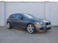 2013 BMW 1 SERIES 2.0 118D M SPORT 5d AUTO 141 BHP £9888.00