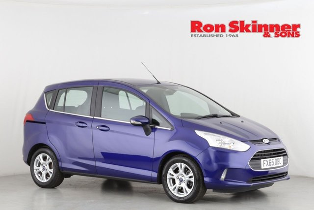 View our 2015 65 FORD B-MAX 1.6 ZETEC 5d 104 BHP