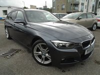 USED 2013 13 BMW 3 SERIES 2.0 320D M SPORT TOURING 5d AUTO 181 BHP GREAT CONDITION+SPEC