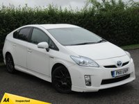 USED 2011 11 TOYOTA PRIUS 1.8 10TH ANNIVERSARY VVT-I 5d AUTOMATIC * ECONMONICAL * £0.00 A YEAR ROAD TAX * AUTOMATIC *