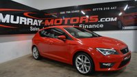USED 2014 SEAT LEON 2.0 TDI FR TECHNOLOGY 5DOOR 184 BHP *SAT NAV*