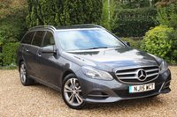USED 2015 15 MERCEDES-BENZ E CLASS 2.1 E220 BLUETEC SE 5d AUTO 174 BHP ** 1 OWNER - HIGH SPECIFICATION AND MERCEDES SERVICED **