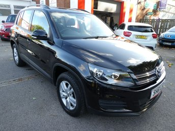 2012 VOLKSWAGEN TIGUAN 2.0 S TDI BLUEMOTION TECHNOLOGY 5d 138 BHP £7254.00