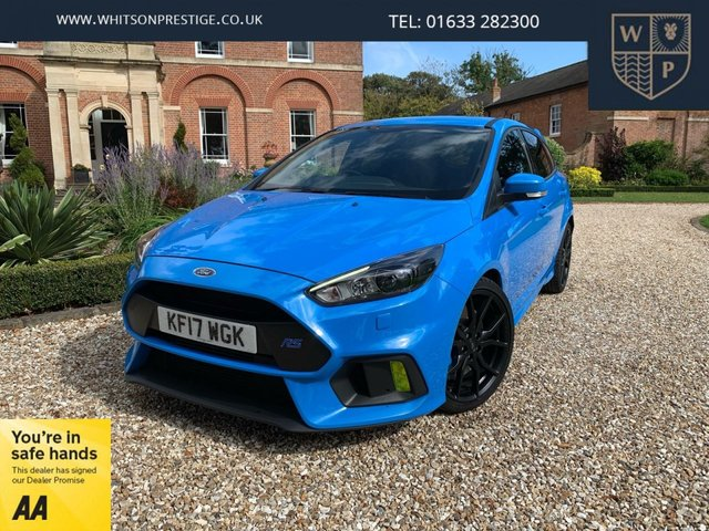 2017 J FORD FOCUS 2.3L RS 5d 346 BHP