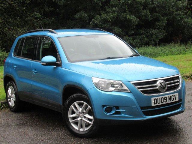 USED 2009 09 VOLKSWAGEN TIGUAN 2.0 S TDI 5d 138 BHP VALUE FOR MONEY 4WD FAMILY CAR