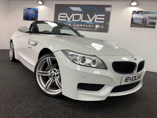 2013 63 BMW Z4 2.0 Z4 SDRIVE20I M SPORT ROADSTER 2d 181 BHP