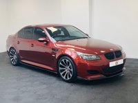 USED 2007 57 BMW M5 5.0 4d 501 BHP UPGRADED 19 INCH ALLOYS + CARBON EXTRAS + HEADS UP DISPLAY + FULL HISTORY