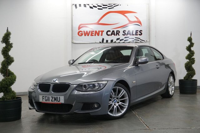 USED 2011 11 BMW 3 SERIES 2.0 320D M SPORT 2d AUTO 181 BHP *HEATED SEATS,, BLUETOOTH,, CRUISE*