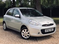 USED 2013 62 NISSAN MICRA 1.2 ACENTA 5d 79 BHP AIR CON, ALLOY WHEELS