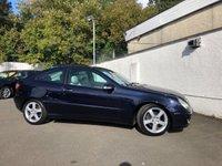 2005 MERCEDES-BENZ C CLASS 1.8 C200 KOMPRESSOR SE SPORTS 3d AUTO 161 BHP £2995.00