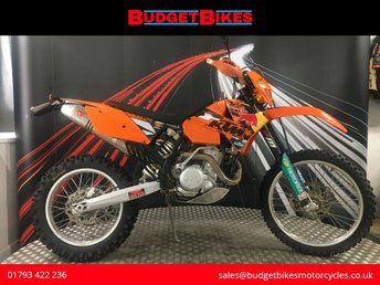 Used KTM bikes in Swindon from Budget Bikes Ltd