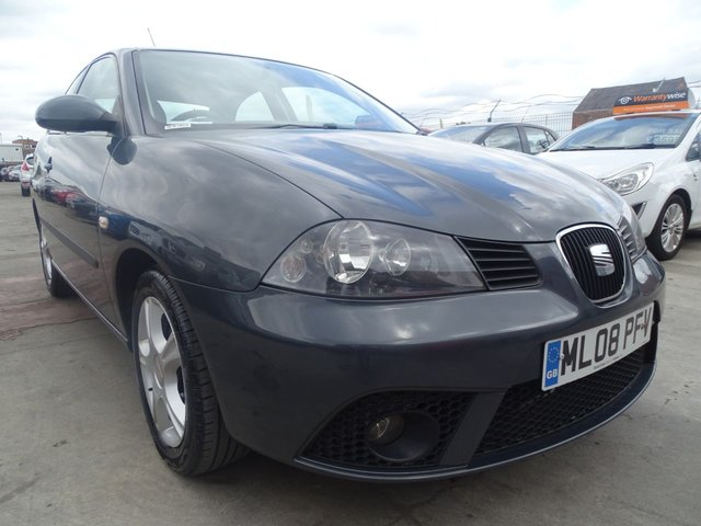 USED 2008 08 SEAT IBIZA 1.2 REFERENCE LOW MILES CHEAP INSURANCE