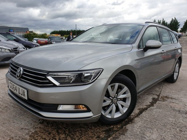 USED 2015 64 VOLKSWAGEN PASSAT 1.6 S TDI BLUEMOTION TECHNOLOGY 5d 119 BHP AIRCON+BLUE+CLOTH+CRUISE+DAB+AUX+2KEYS+20ROADTAX+17ALLOYS+ELEC+