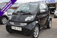 USED 2006 06 SMART FORTWO 0.7 PASSION SOFTOUCH 2d AUTO 61 BHP