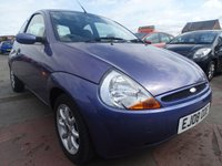 USED 2008 08 FORD KA 1.3 ZETEC CLIMATE CLOTH  GENUINE LOW MILES