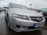 USED 2008 08 HONDA ACCORD 2.2 I-CDTI SPORT GT ESTATE GREAT SPEC
