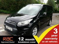 2017 FORD TRANSIT CONNECT 1.5 200 L1 Limited 120ps £10450.00