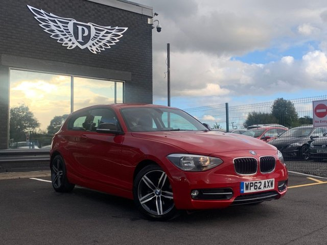 USED 2012 62 BMW 1 SERIES 2.0 116D SPORT 3d 114 BHP AA WARRANTY,  MOT AND SERVICE INCLUDED