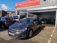 USED 2014 64 VAUXHALL ASTRA 1.6 SRI 5d AUTO 115 BHP ONLY 3187 MILES FROM NEW, CHEAP TO RUN AND EXCELLENT FUEL ECONOMY!! GOOD SPECIFICATION INCLUDING PARKING SENSORS, AIR CONDITIONING,AND ALLOY WHEELS