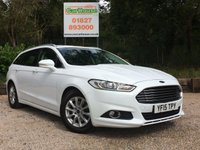 USED 2015 15 FORD MONDEO 2.0 ZETEC ECONETIC TDCI 5dr Sat Nav, £20 Tax, Cruise