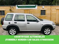 USED 2005 55 LAND ROVER FREELANDER 1.8 XEI STATION WAGON 5d 116 BHP Here we have a very clean and tidy example of a 5 door Freelander, 17 Inch alloy wheels including spare, Air conditioning with all 4 electric windows, Hill descent, electric mirrors, CD Player, Interior is finished in black cloth and is clean and tidy throughout, never been smoked in and looks and smells fresh. Comes with the reassurance of 12 months parts and labour warranty a new MOT and a full service prior to delivery.