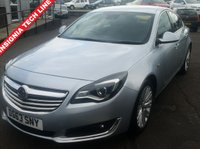 USED 2013 63 VAUXHALL INSIGNIA 2.0 TECH LINE CDTI ECOFLEX S/S 5d 160 BHP NO DEPOSIT AVAILABLE, DRIVE AWAY TODAY!!