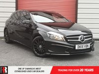 USED 2015 15 MERCEDES-BENZ A CLASS 2.1 A220 CDI BLUEEFFICIENCY AMG SPORT 5d AUTO 170 BHP Front Sport Seats & Pedals