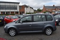 USED 2006 56 VOLKSWAGEN TOURAN 1.9 SE TDI 7 STR 5d 103 BHP FULL SERVICE HISTORY X 16 STAMPS - 103,000 GUARANTEED MILES - 3 OWNERS FROM NEW - TIMING BELT DONE - 6 SPEED GEARBOX - 7 SEATS