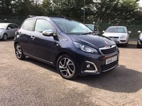 2017 PEUGEOT 108 1.2 PURETECH ALLURE TOP 5d CONVERTIBLE WITH HISTORY £6000.00