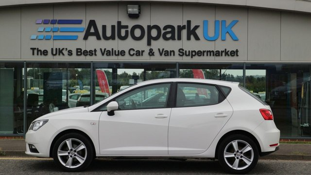 USED 2013 13 SEAT IBIZA 1.4 TOCA 5d 85 BHP LOW DEPOSIT OR NO DEPOSIT FINANCE AVAILABLE